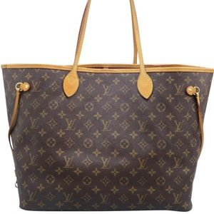 AUTH Louis Vuitton Neverfull GM Pivione Interior